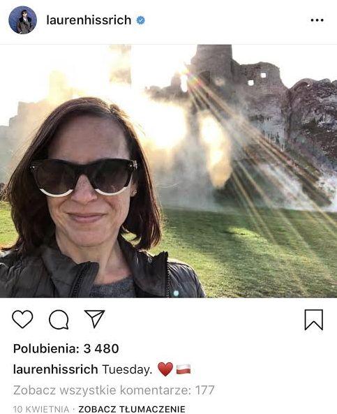 scenarzystka-wiedzmina-na-zamku-ogrodzieniec-instagram